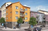 Nybyggnad av flerbostadshus i Österåker, etapp 1