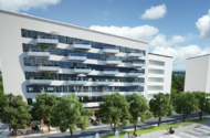 Nybyggnad av flerbostadshus i Hjorthagen